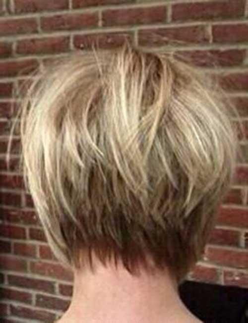 Edgy Bob Hair Style
