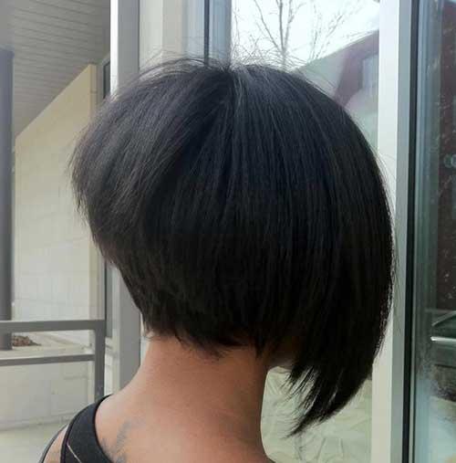 Black Bliss Bob Hair Style