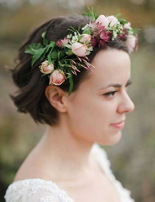 Short Neatly Bridal Haircuts