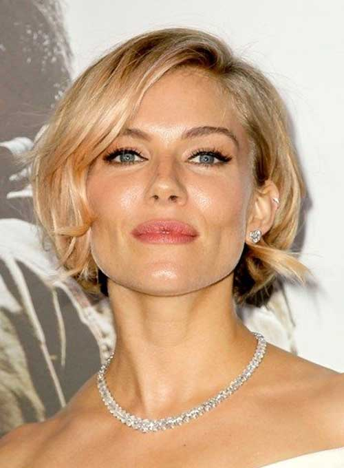 Sienna Miller New Hair 2014-2015