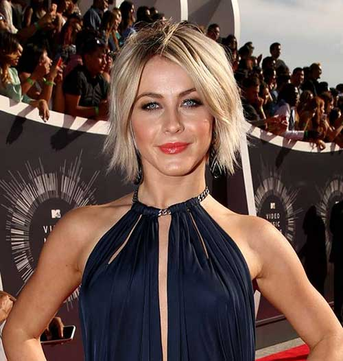 Julianne Hough Short Choppy Hairstyle