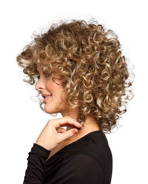 Hairstyle Girl Curly: 25 Short And Curly Hairstyles