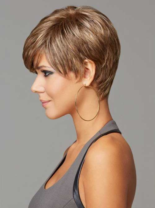 Short Hairstyles for Thick Pixie Hairs