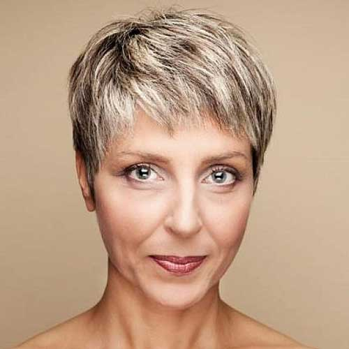 Short Fine Hairstyles for Women Over 50