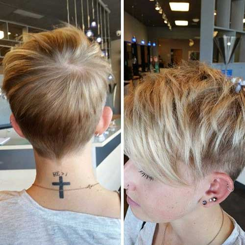 Latest Short Layered Hairstyles for 2014-2015