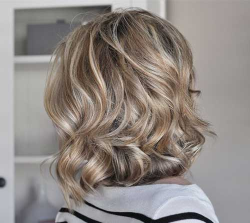 Soft Waves on Short Easy Hair for Women