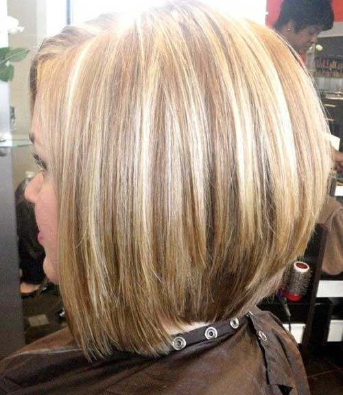 Chic Stacked Bob Hairstyles
