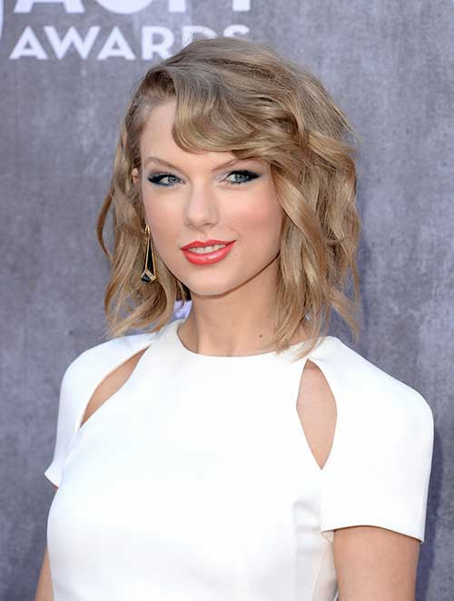 Taylor Swift Haircut Celebrity Hair