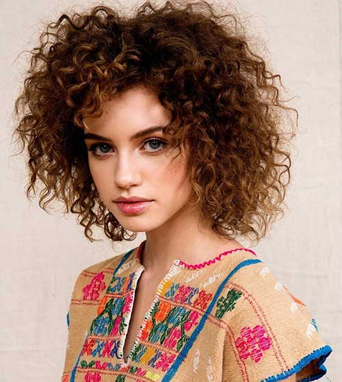 Tremendous 25 Short And Curly Hairstyles Short Hairstyles 2016 2017 Hairstyles For Women Draintrainus