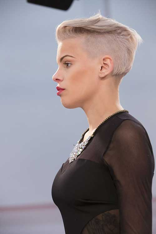 Undercut Hairstyle for Cool Girls