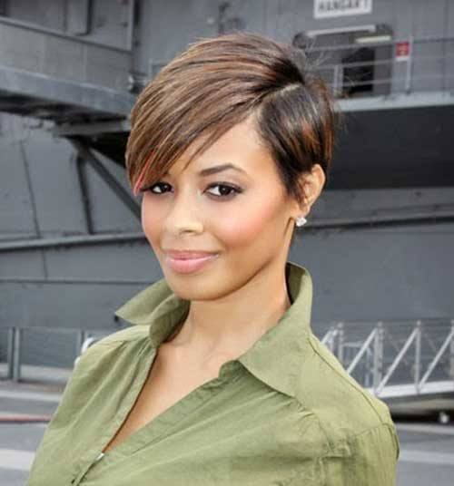 Tremendous 20 Nice Short Haircuts For Black Women Short Hairstyles 2016 Hairstyle Inspiration Daily Dogsangcom