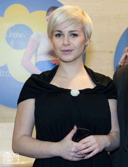 Victoria Koblenko Great Blonde Pixie Hair