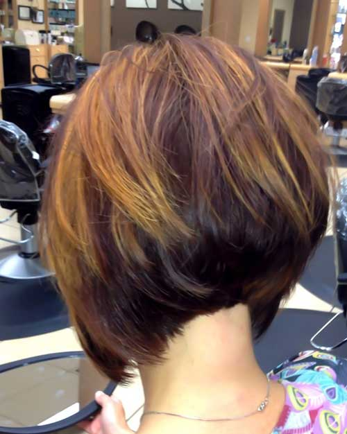 Phenomenal 35 Short Stacked Bob Hairstyles Short Hairstyles 2016 2017 Hairstyles For Women Draintrainus