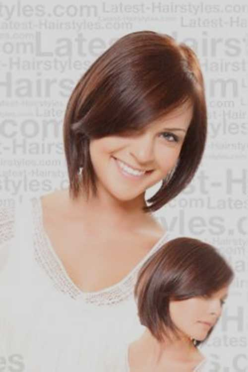 Nice Short Bob Haircuts With Bangs