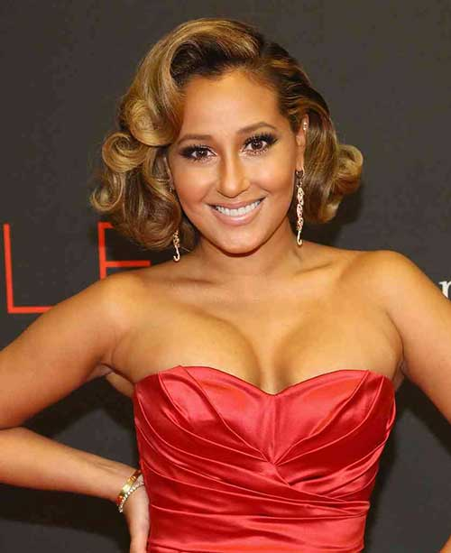 Adrienne Bailon Bob Hairstyles for Women