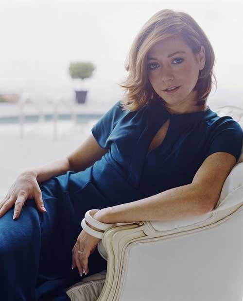 Alyson Hannigan Short Hair