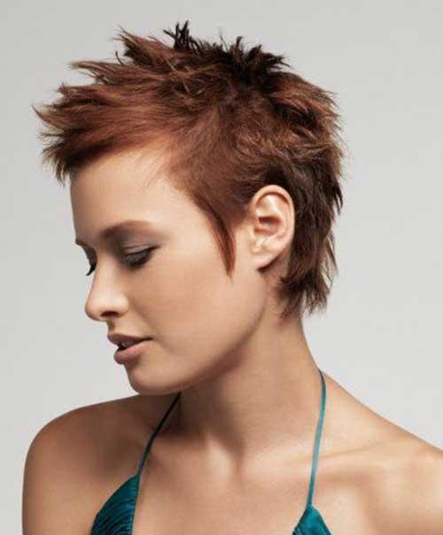 Strange 30 Spiky Short Haircuts Short Hairstyles 2016 2017 Most Short Hairstyles Gunalazisus
