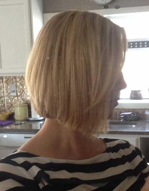Blonde Angled Blonde Bob Trend