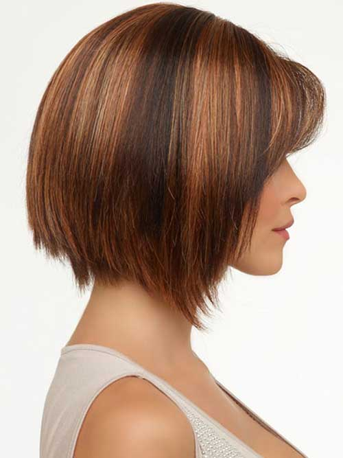 Angled Bobs With Bangs Short Hairstyles 2018 2019 Most Popular