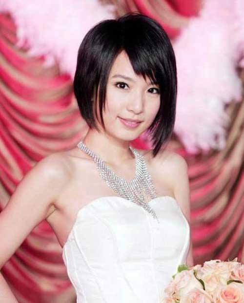 Best Asian Short Hairstyle Inverted