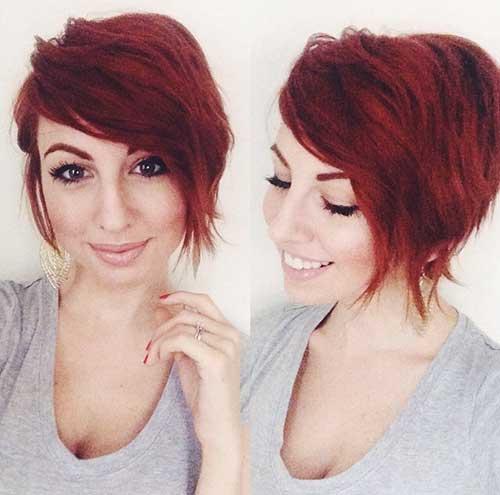 Asymmetrical Hair Long Pixie