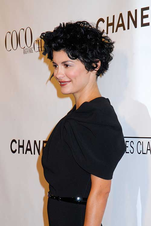 Audrey Tautou Haircuts
