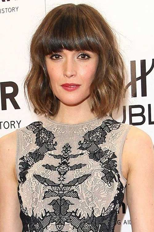 Best Fine Bob Fringe Bangs