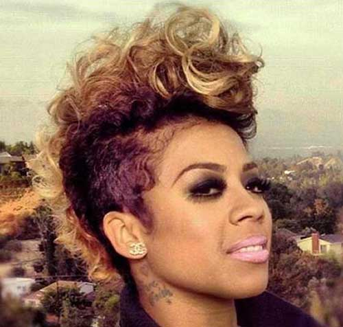 Excellent Mohawk Short Hairstyles For Black Women Short Hairstyles 2016 Short Hairstyles Gunalazisus
