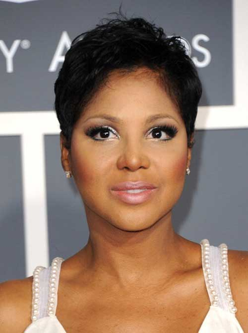 Nice Black Women Pixie Cuts