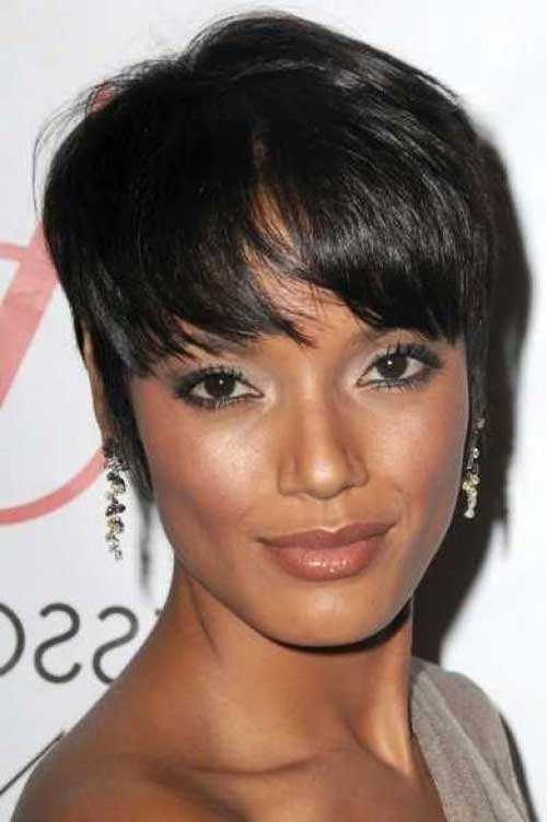 Nice Black Women with Long Pixie Pictures