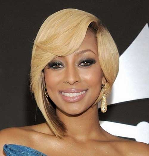 Best Blonde Short Hairdo for Black Women