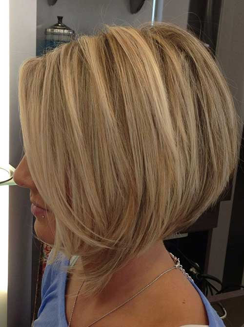 Blonde Bobed Hairstyles