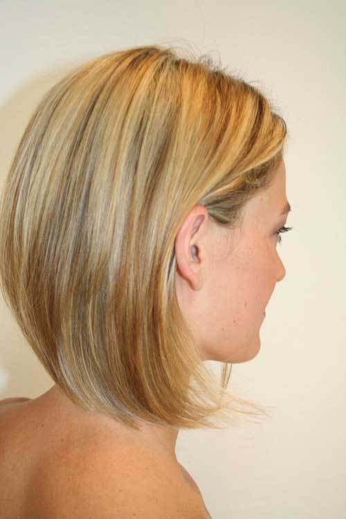 Blonde Color Short Hair Trends 2014