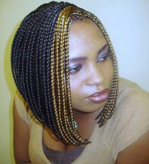Bob Box Braids for Black Women