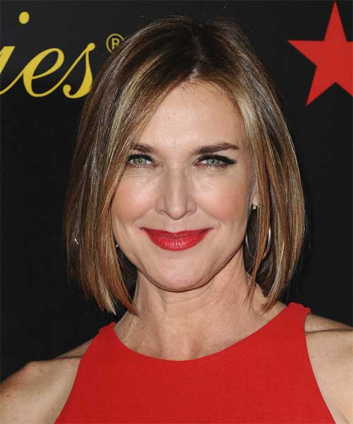 Brenda Strong Casual Hairstyles