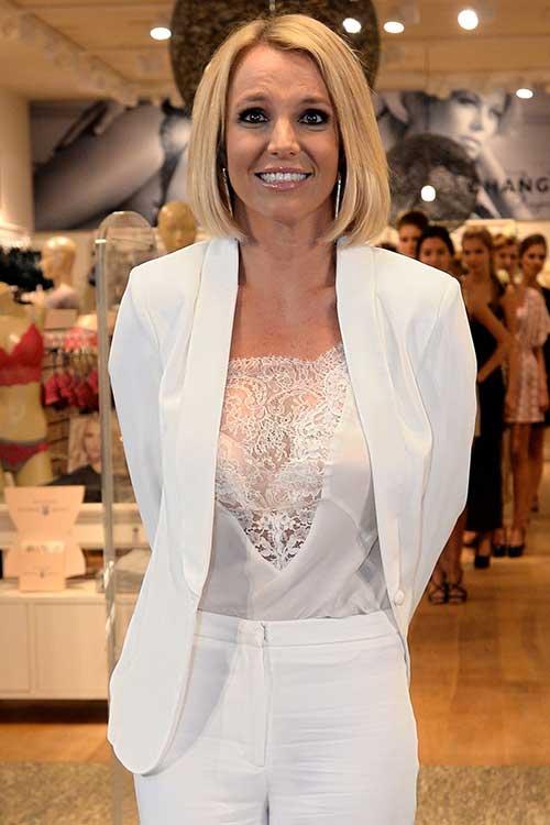 Britney Spears Bob Hair Pics