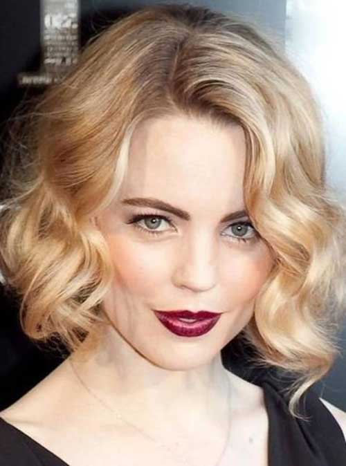 Celeb Curly Wavy Formal Hairstyles