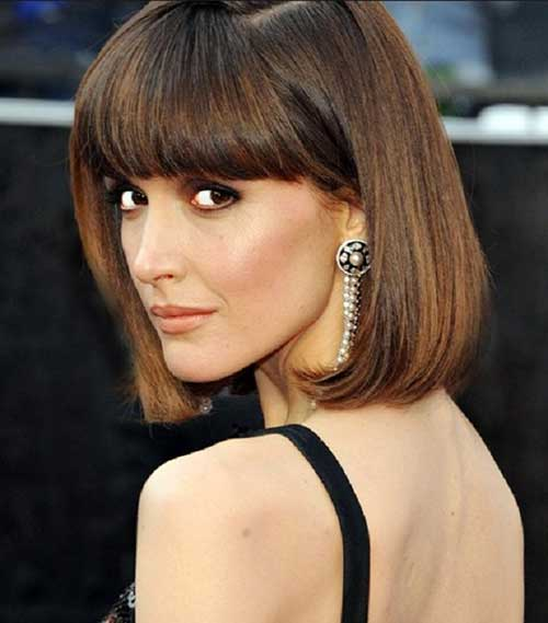 Best Celebrity Short Haircuts with Bangs