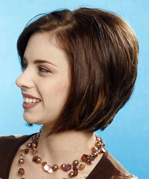 Nice Chin Lenght Straight Casual Hairstyle