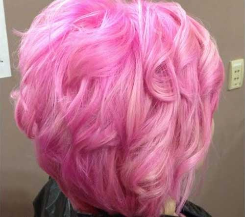 Pink Cotton Candy Hair Color