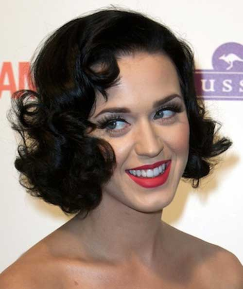 Bob Hair Styles for Curly Hair with Glamorous Look
