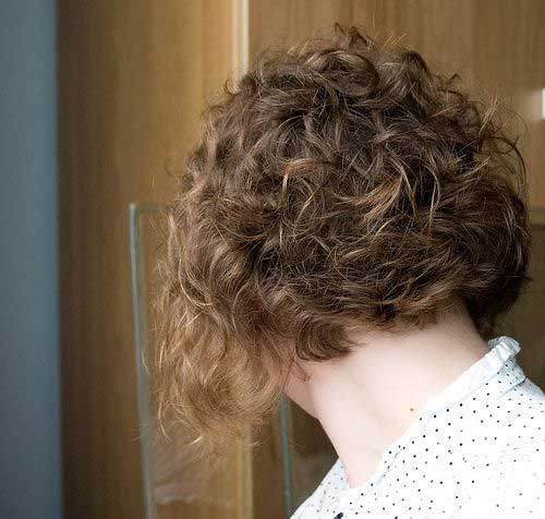 Tremendous Best Bob Cuts For Curly Hair Short Hairstyles 2016 2017 Most Hairstyle Inspiration Daily Dogsangcom