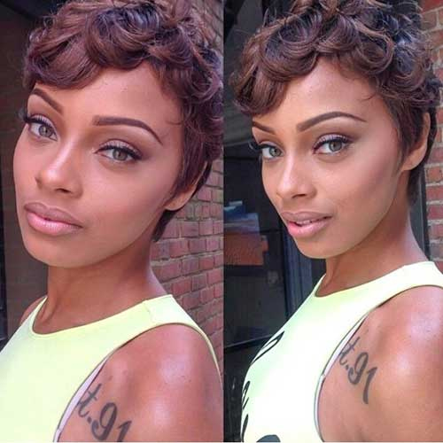 Surprising 20 Short Pixie Haircuts For Black Women Short Hairstyles 2016 Hairstyle Inspiration Daily Dogsangcom