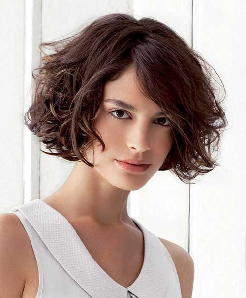 Curly Hair Bob for Girls