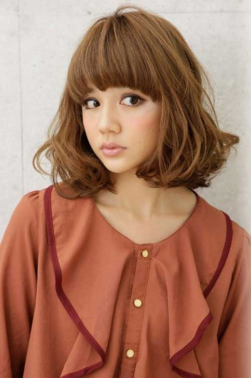 Cute Japanese Wavy Hairstyles