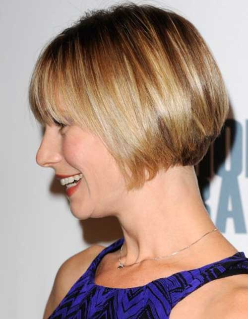 Nice Short Bob Hairstyles for Fine Hair