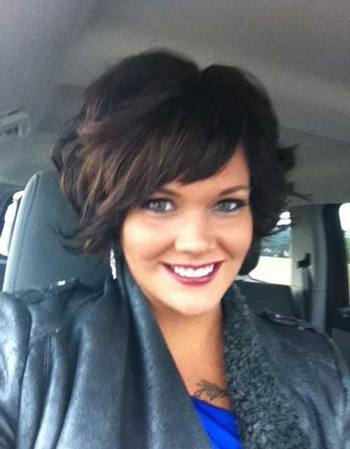 Sensational New Cute Hairstyles For Short Wavy Hair Short Hairstyles 2016 Hairstyles For Women Draintrainus