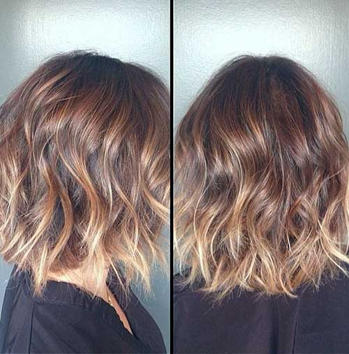 Lovely Cute Short Wavy Hair