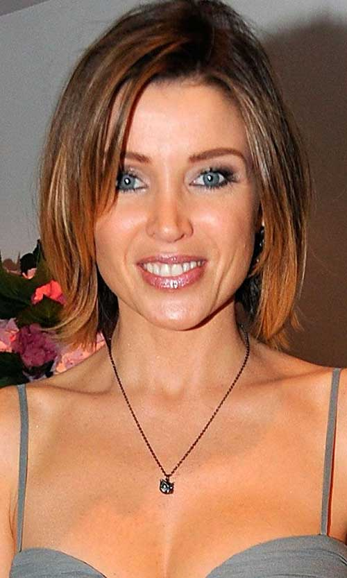 Dannii Minogue Ombre Hair Color