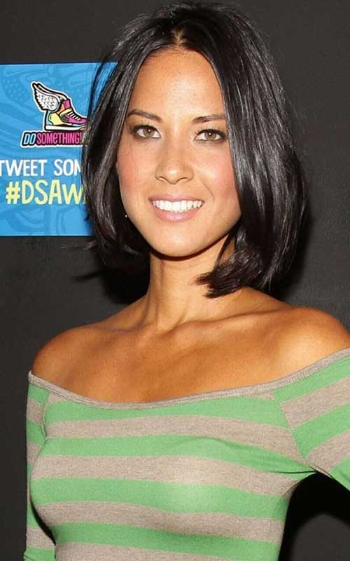 Best Dark Straight Fine Bob Hairstyle